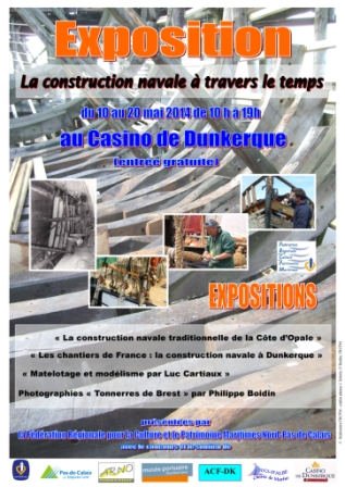 Exposition Construction navale - affiche